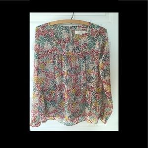 Flower blouse from loft
